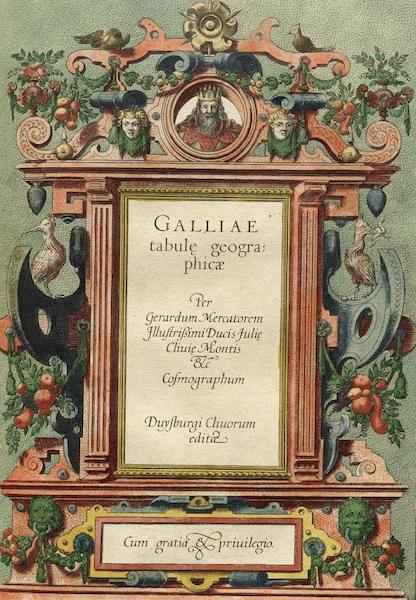 Galliae tabule Geographicae