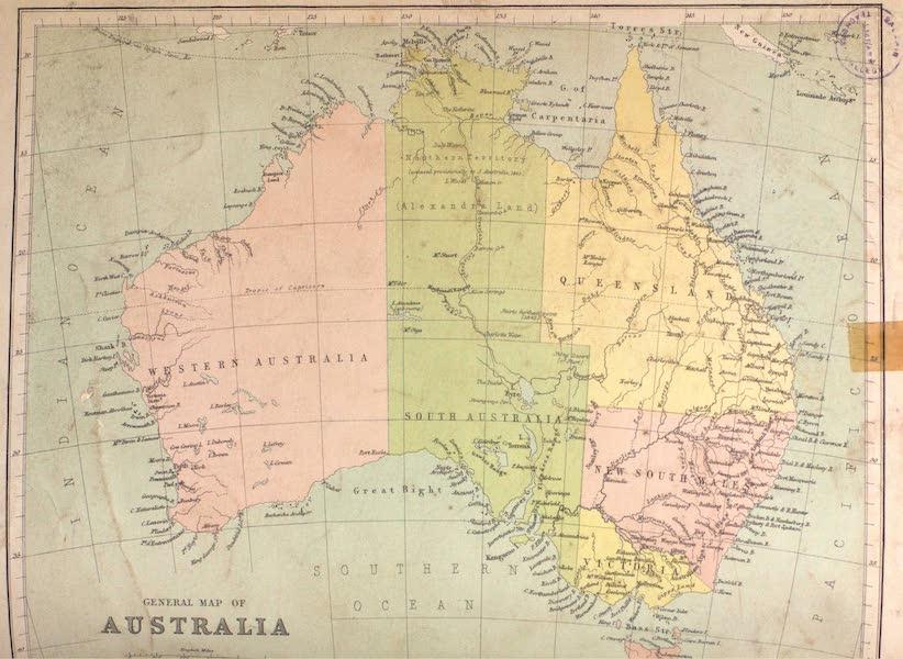 Australia Vol. 1 - General Map of Australia (1873)