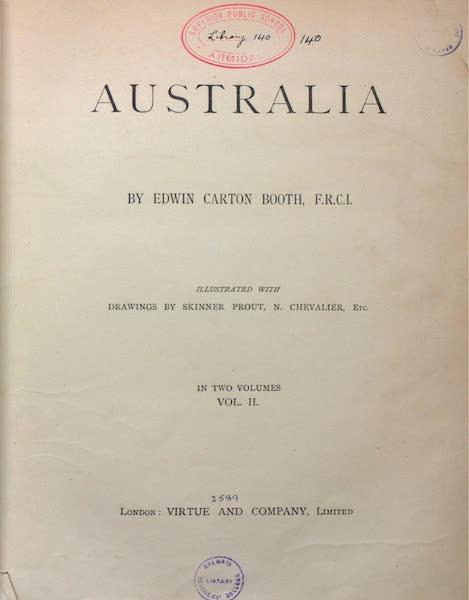 Australia Vol. 2 - Title Page (1873)