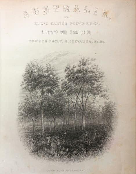 Australia Vol. 2 - Illustrated Title Page (1873)