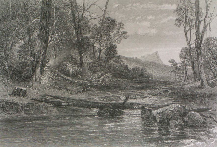 Australia Vol. 2 - Source of the Derwent, Tasmania (1873)