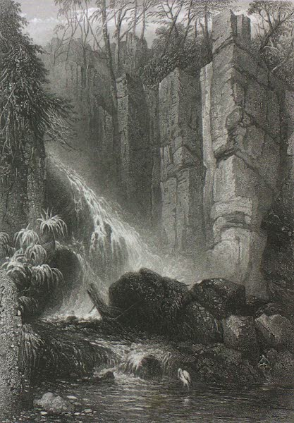 Australia Vol. 2 - Cataract Glen, Mount Wellington, Tasmania (1873)