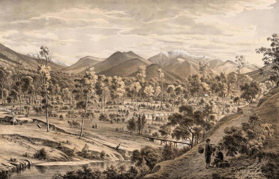 Australian Landscapes - The Valley of the Ovens River (1866)