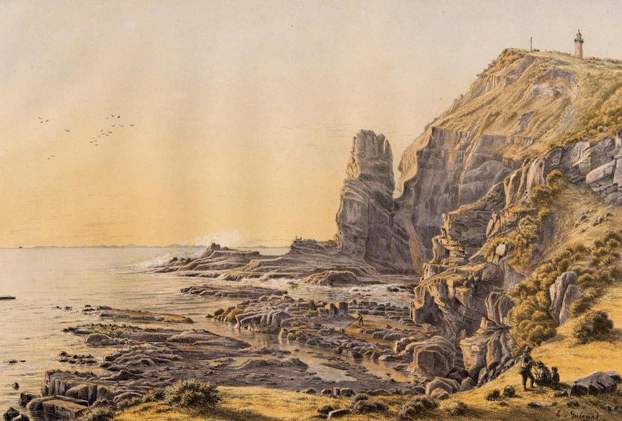 Australian Landscapes - Castle Rock, Cape Schank (1866)