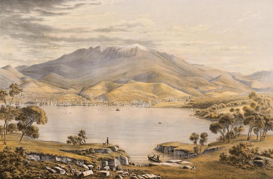 Australian Landscapes - Hobart Town (1866)