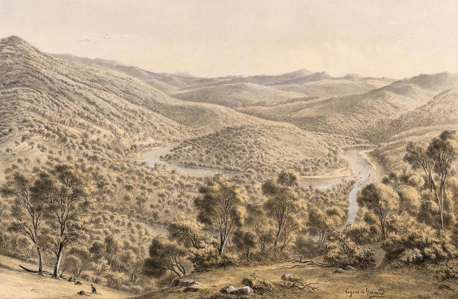 Australian Landscapes - Junction of the Buchan and Snowy Rivers, Gipps Land (1866)