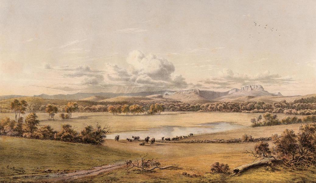Australian Landscapes - Ben Lomond Epping Forest, Tasmania (1866)