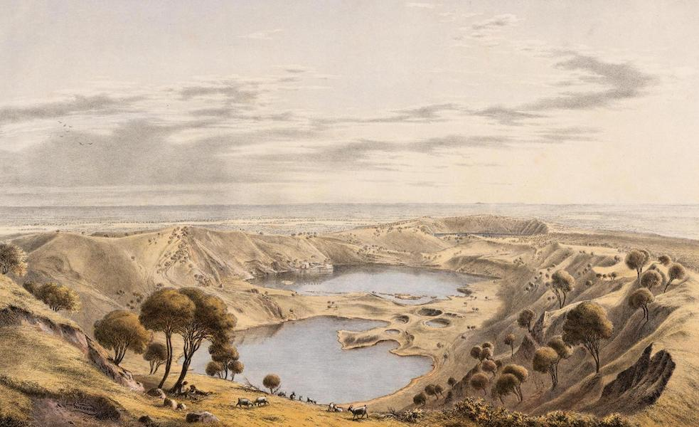 Australian Landscapes - Crater of Mount Gambier, S.A. (1866)