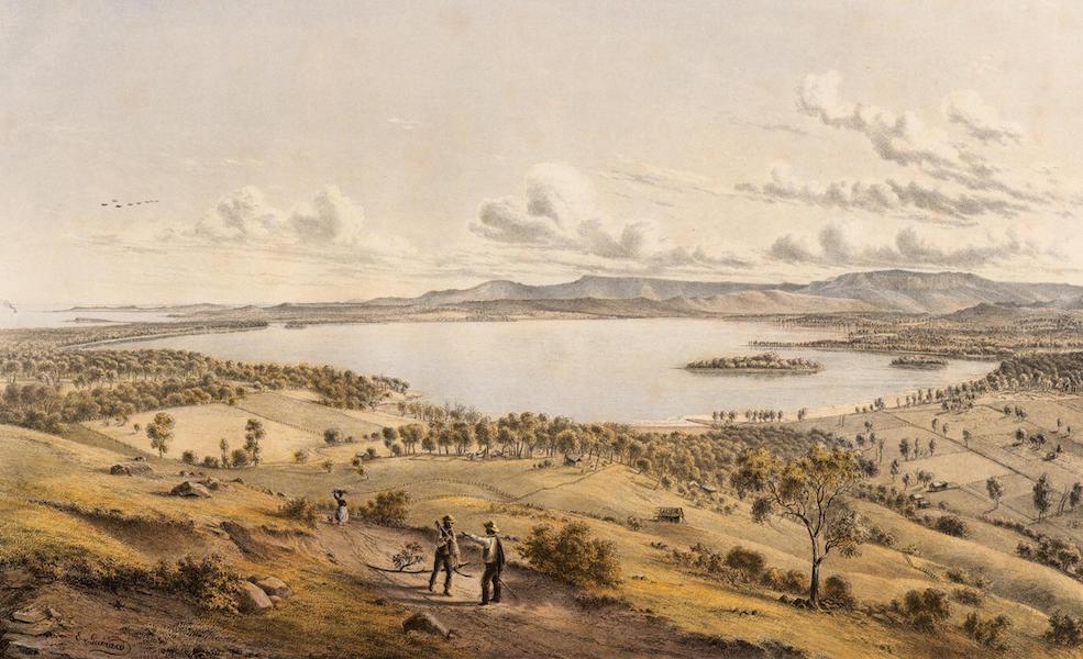 Australian Landscapes - Lake Illawarra, N.S.W. (1866)