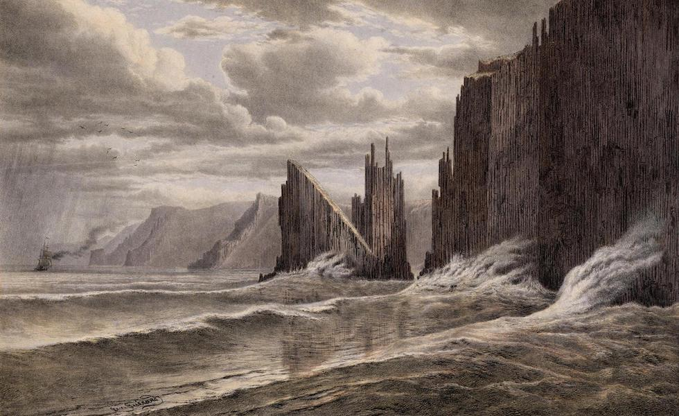 Australian Landscapes - South End of Tasman's Island (1866)