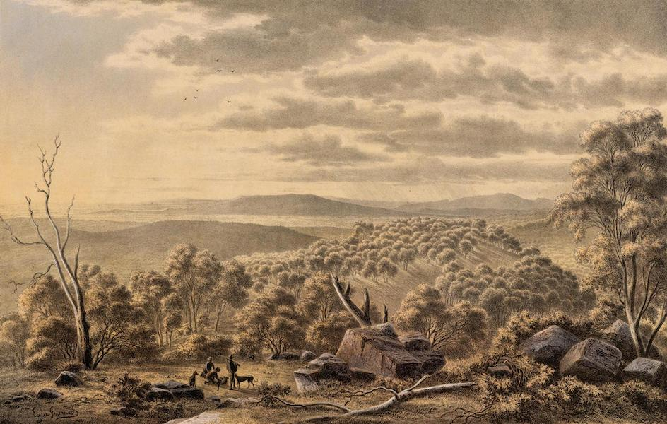Australian Landscapes - Top of Mount Lofty near Adelaide (1866)