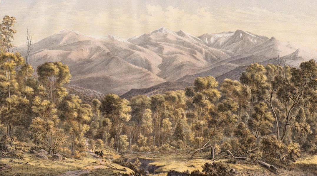 Australian Landscapes - Mount Kosciusko from the North-West N.S.W. (1866)