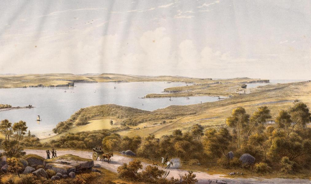 Australian Landscapes - Sydney Heads, New South Wales (1866)