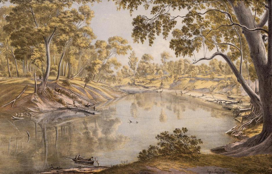 Australian Landscapes - Goulbourn River Near Shepparton (1866)