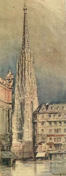 Austria: Her People and Their Homelands - The Tower of St Stephen's, Vienna (1913)