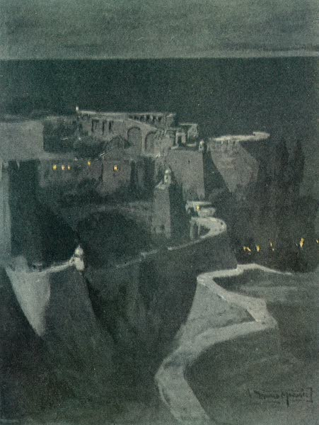 Austria: Her People and Their Homelands - The Walls of Ragusa (1913)