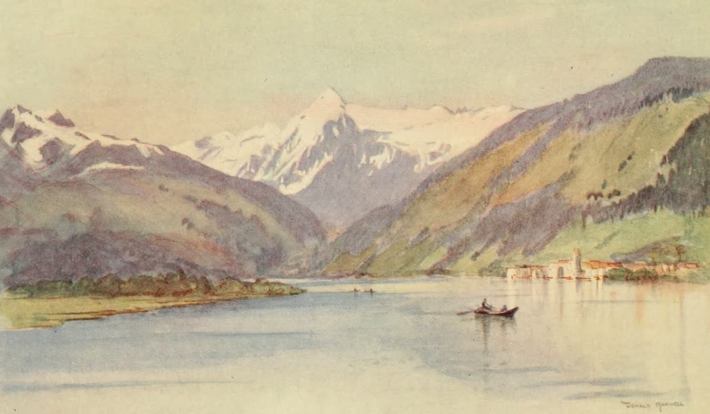Austria: Her People and Their Homelands - Zell am See (1913)