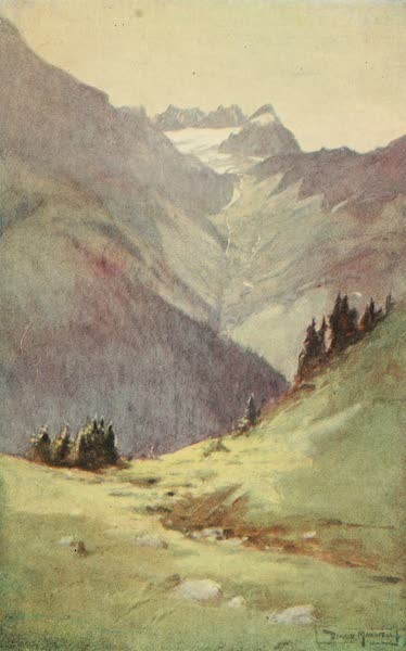 Austria: Her People and Their Homelands - In the Arlberg Pass (1913)