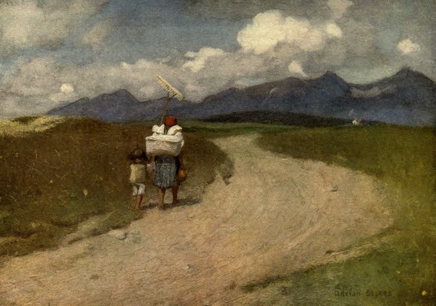 Austria-Hungary by G. E. Mitton - A Road in the Carpathians (1914)