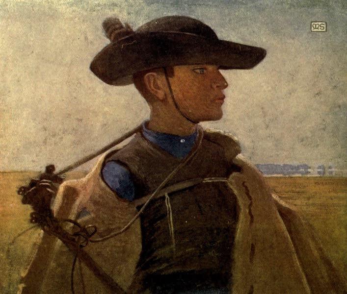 Austria-Hungary by G. E. Mitton - A Young Magyar Csikos (1914)