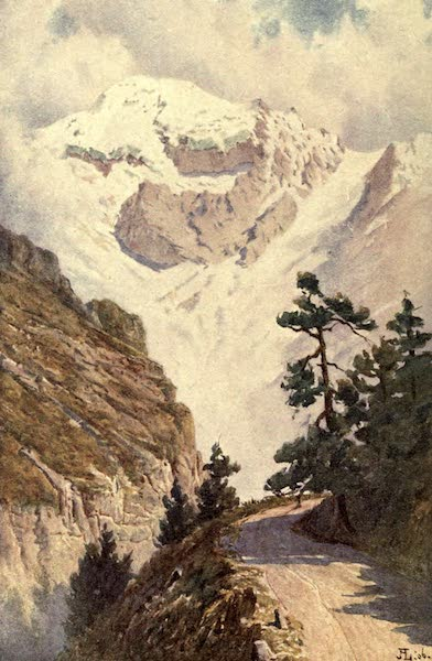 Austria-Hungary by G. E. Mitton - The Ortler Spitze (1914)