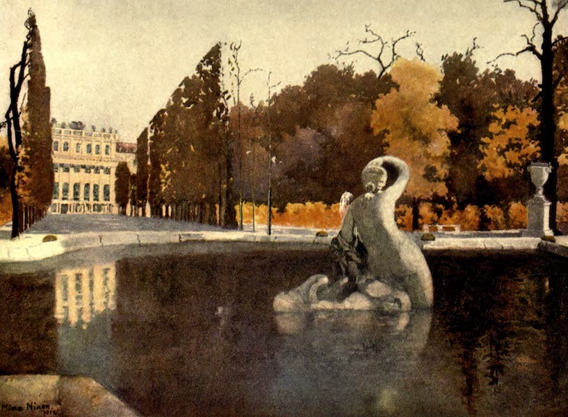 Austria-Hungary by G. E. Mitton - Vienna : Castle Schonbrunn (1914)