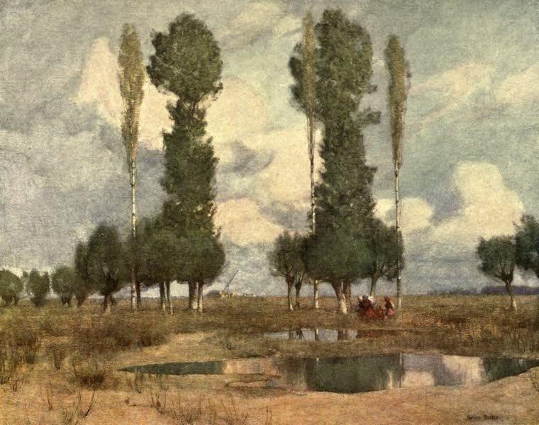 Austria-Hungary by G. E. Mitton - Waste Lands near Kalocsa (1914)
