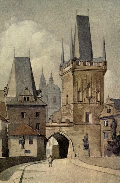 Austria-Hungary by G. E. Mitton - Prague : Carl's Bridge (1914)