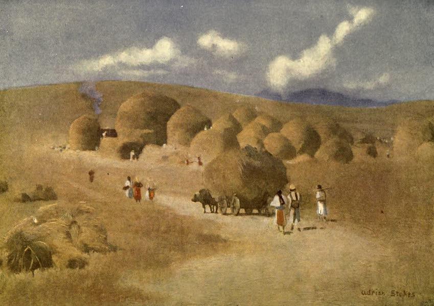 Austria-Hungary by G. E. Mitton - Harvest-time in Transylvania (1914)