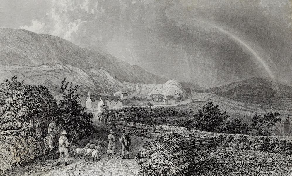 Barber's Picturesque Guide to the Isle of Wight - St. Boniface Down (1850)