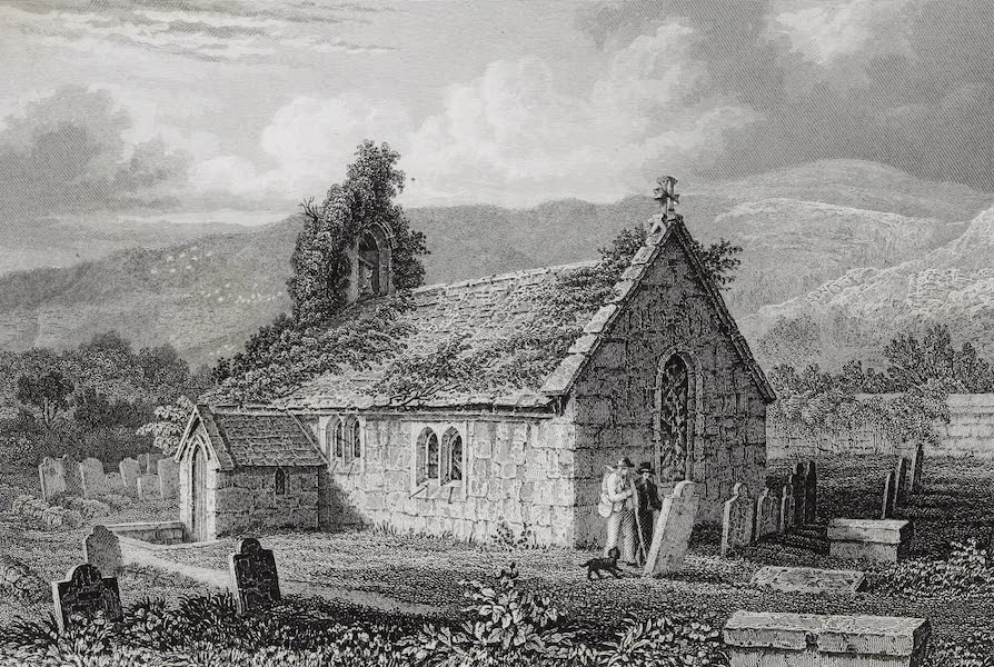 Barber's Picturesque Guide to the Isle of Wight - St. Lawrence Church (1850)