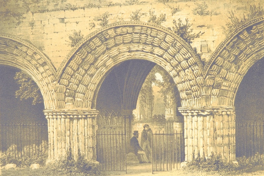Barrow-in-Furness, It's History etc. - Norman Arch, Chapter House, Furness Abbey (1881)