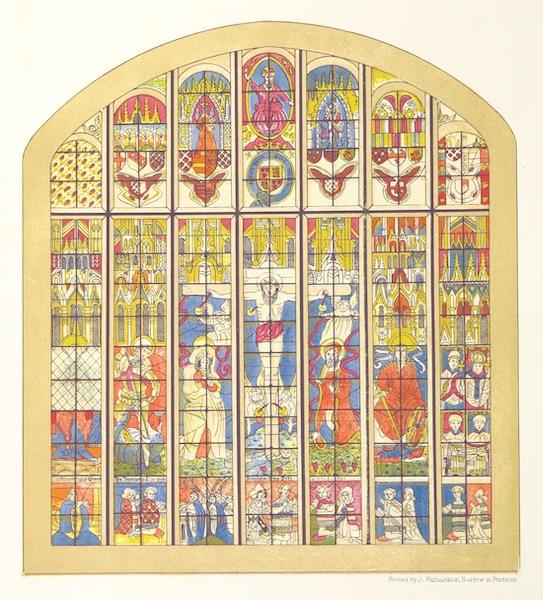 Barrow-in-Furness, It's History etc. - The Famous Furness Abbey Window (1881)