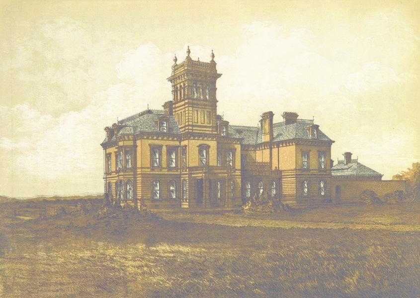 Barrow-in-Furness, It's History etc. - Infield House, the Residence of S. J. Claye (1881)