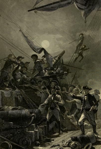 Battles of the United States Vol. I - Com. Paul Jones Capturing the Serapis (1858)