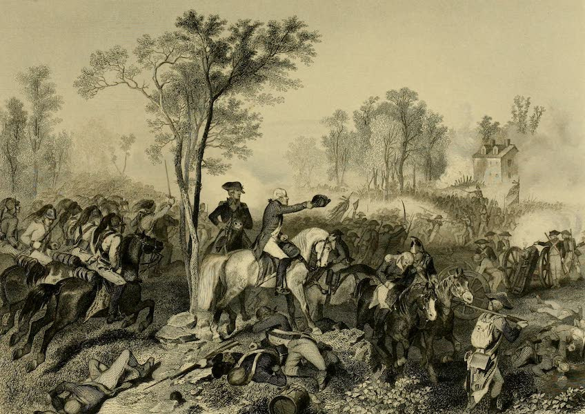 Battles of the United States Vol. I - Battle of Eutaw Springs (1858)
