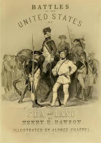 Aquatint & Lithography - Battles of the United States Vol. II