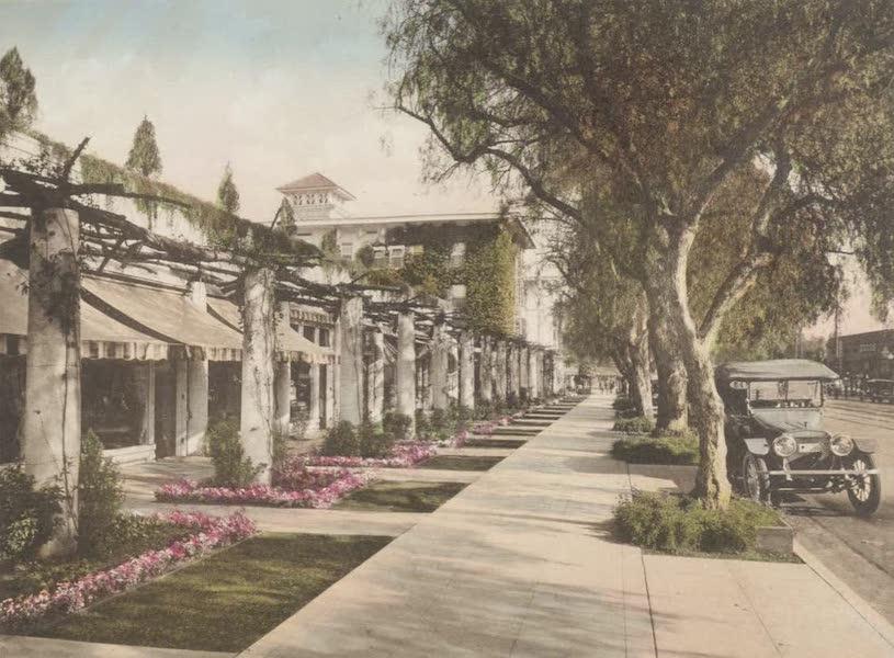 Beautiful Pasadena California - Colorado Street (1920)