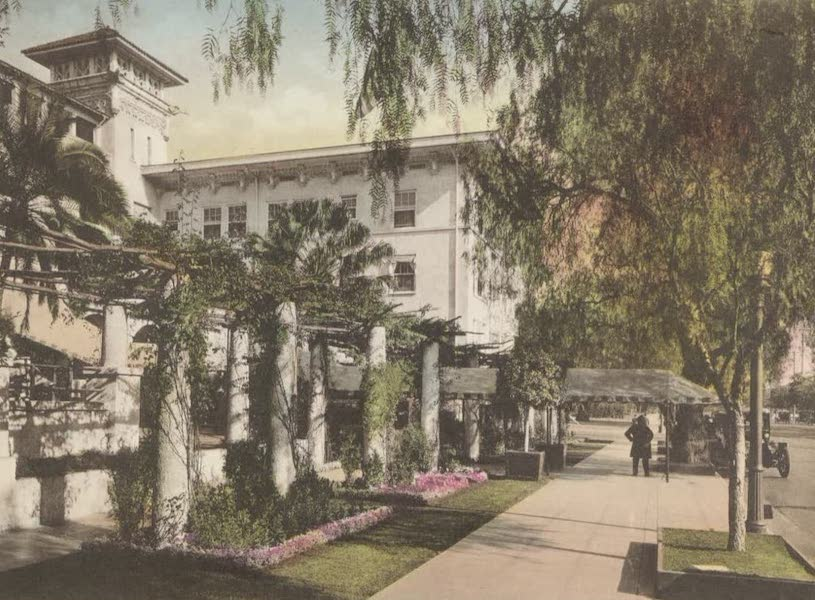 Beautiful Pasadena California - Hotel Maryland (1920)