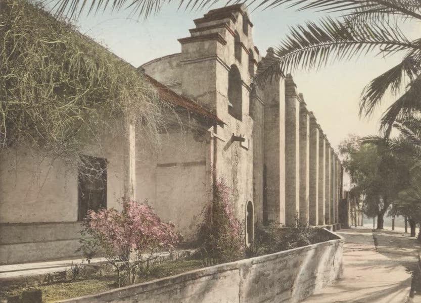 Beautiful Pasadena California - San Gabriel Mission (1920)