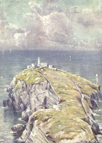 Beautiful Wales Painted and Described - The Stack, Holyhead (1905)