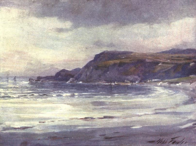 Beautiful Wales Painted and Described - Summer Evening, Anglesey Coast (1905)