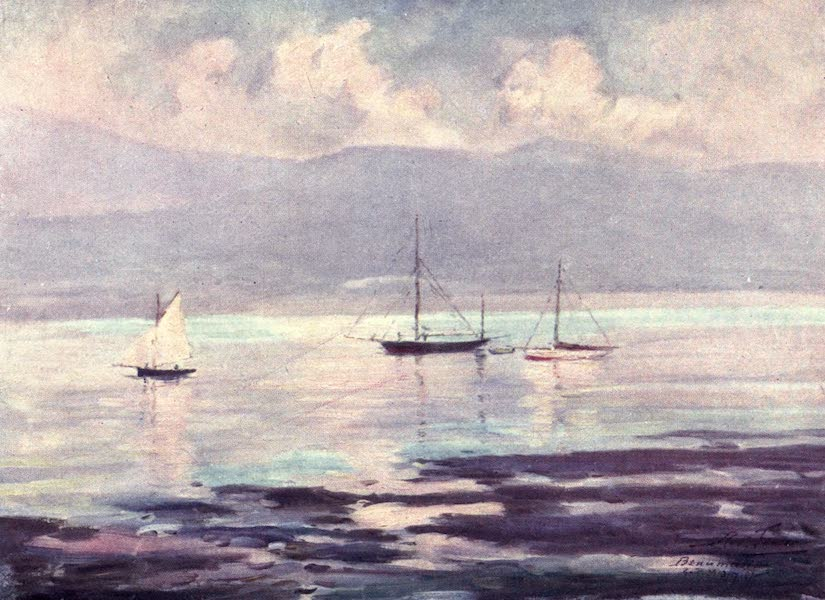 Beautiful Wales Painted and Described - Yachts, Anglesey Coast (1905)