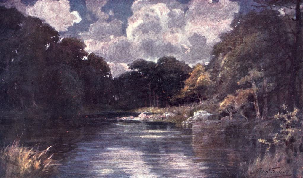 Beautiful Wales Painted and Described - The Trout Stream (1905)