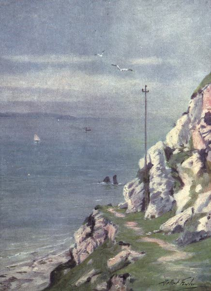 Beautiful Wales Painted and Described - A Footpath on the Great Orme (1905)