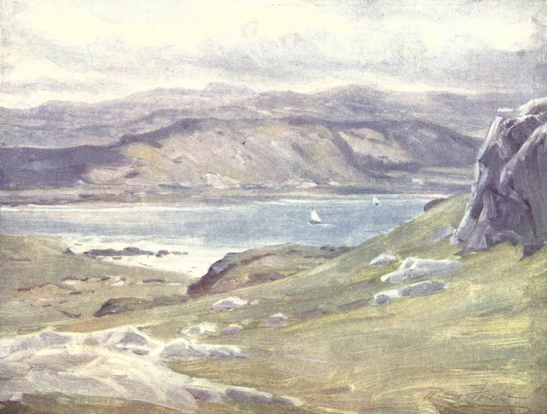 Beautiful Wales Painted and Described - A View from the Great Orme's Head (1905)