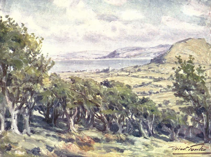 Beautiful Wales Painted and Described - Near Colwyn Bay (1905)