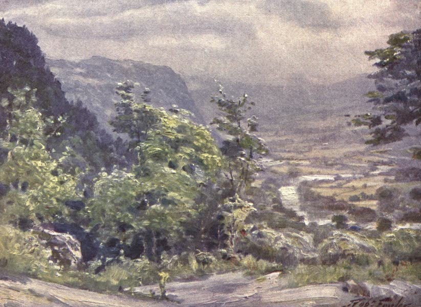 Beautiful Wales Painted and Described - Conway Valley (1905)