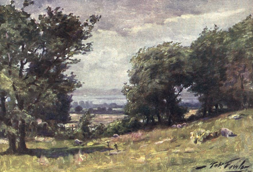 Beautiful Wales Painted and Described - Windy Day, near Llanrug (1905)