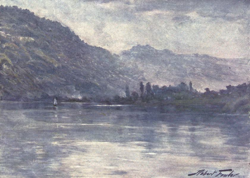 Beautiful Wales Painted and Described - Morning Mists, near Trefriw (1905)